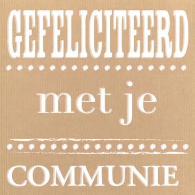 Gedichtjes communie